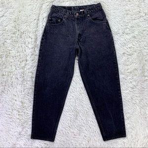 Vintage USA Levi's 560 Loose Tapered Black Jeans